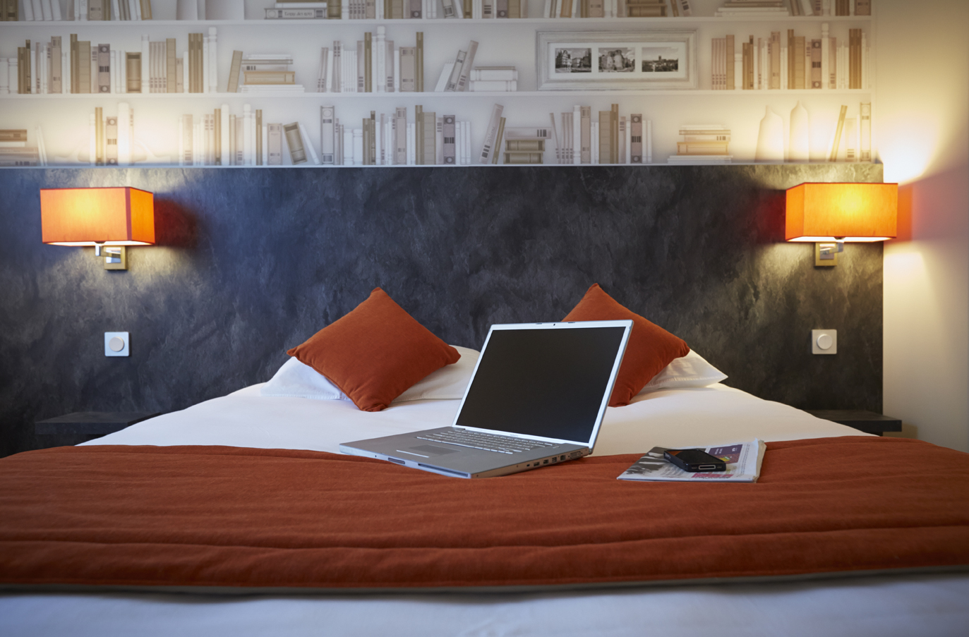hotel kyriad angers beaucouze - géraldine fourny - decoratrice d interieur nantes 44 - décoration hotel 2