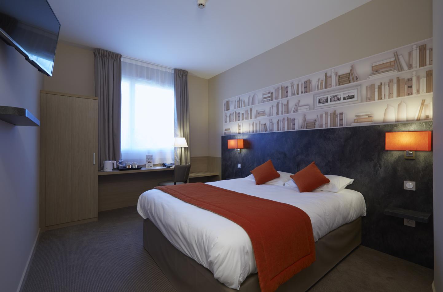 hotel kyriad angers beaucouze - géraldine fourny - decoratrice d interieur nantes 44 - décoration hotel