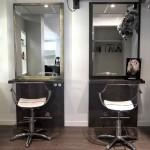 salon de coiffure decoration - geraldine fourny - decoratrice dinterieur nantes 44 - 3
