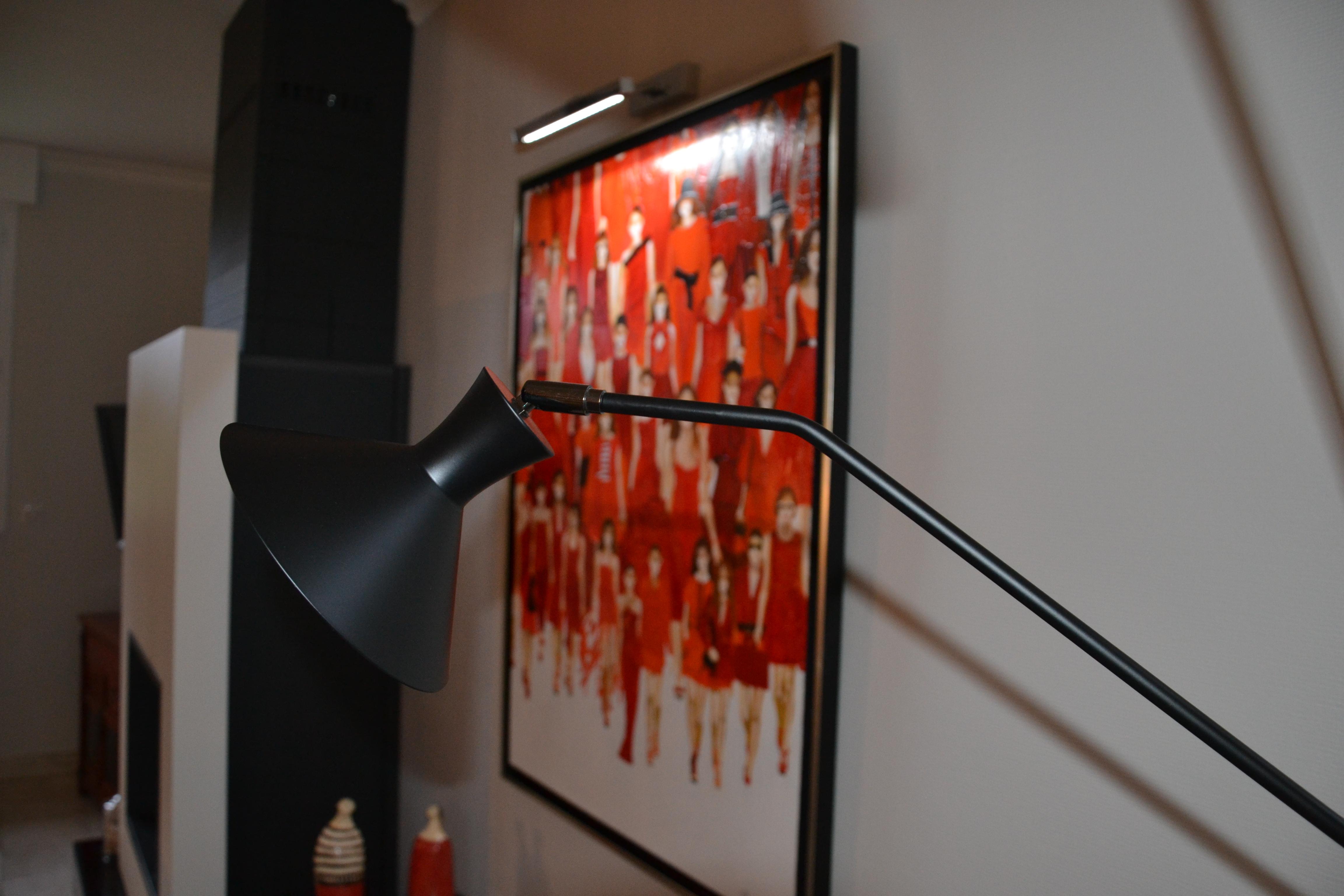 maison déco rouge et noire - 15 - geraldine fourny - decoratrice - Rezé - 44
